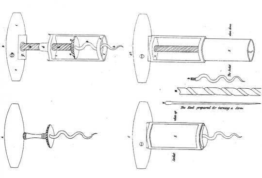 първият патентован тирбушон