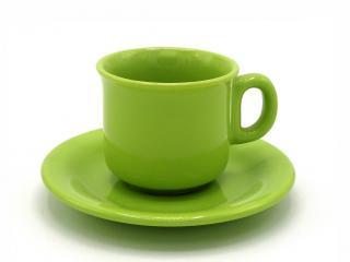 Чаша за чай с чинийка, цена 3,30лв.