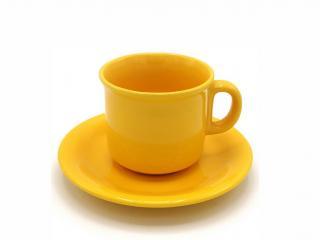 Чаша за кафе с чинийка, цена 2,94лв.