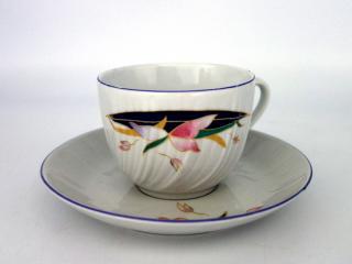 Чаша за чай с чиния, декор 3636, цена 2,48лв.
