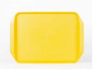 Табла сервиране 43/30см жълта, цена 4,75лв.