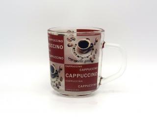 стъклена чаша за кафе