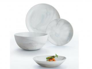 Сервиз за хранене 19ел Luminarc Granit/Marbre, цена 64,90лв.