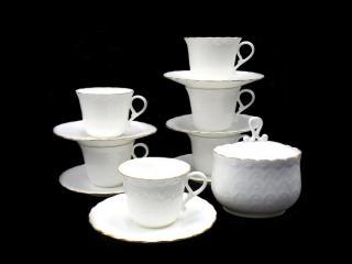Сервиз за кафе кафе 13 части модел Ралица, цена 94,80лв.