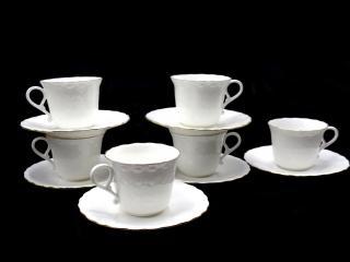 сервиз кафе костен порцелан