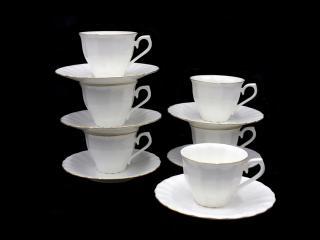 Сервиз за кафе кафе 12 части костен порцелан, цена 75,80лв.