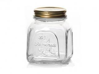Стъклен буркан HomeMade 500мл, цена 2,80лв.