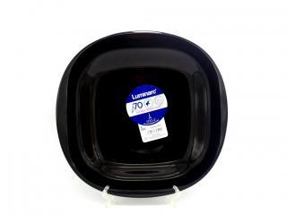 Чиния 27см плитка,черна, цена 2,90лв.