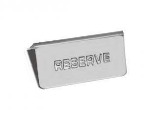 Табелка Резерве, цена 2,15лв.